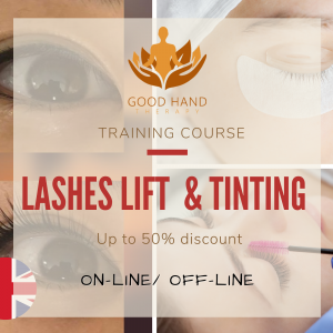 Lashes lift and tinting training package